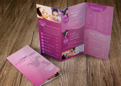 Indulgent Bliss Tri-fold Brochure