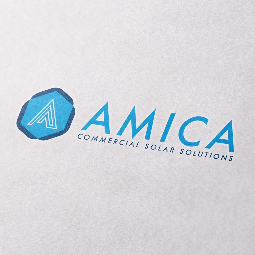 Logo Designer - Amica Solar Solutions
