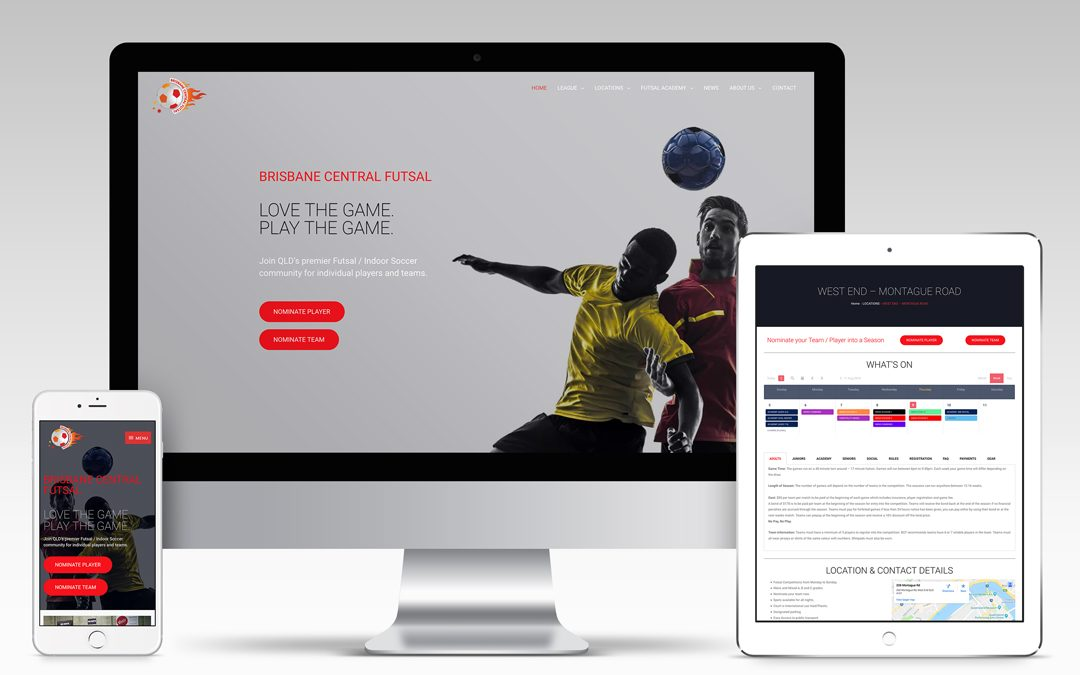 Brisbane Central Futsal Website